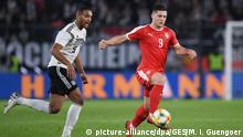 Fußball Freundschaftsspiel Deutschland - Serbien   Luka Jovic