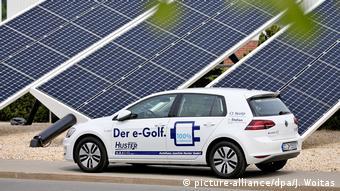 На заводе Volkswagen в Цвиккау установлены солнечные батареи