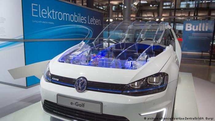 Электрический вариант VW Golf