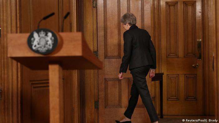 Großbritanien   Theresa May   Brexit (Reuters/Pool/J. Brady)