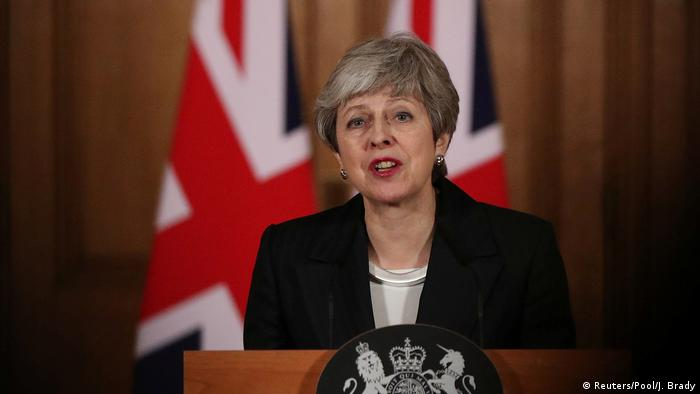 Theresa May makes her appeal to British voters