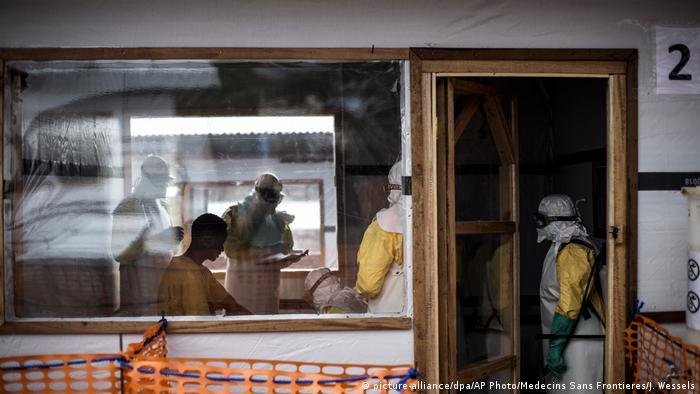 Health workers in Bunia, DRC