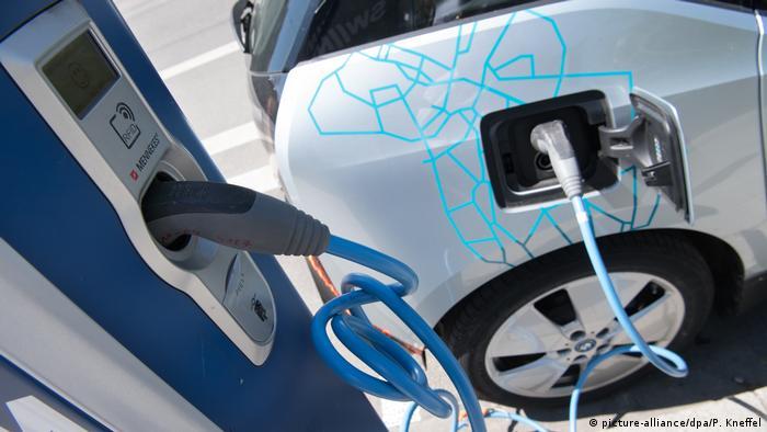 Автомобильная электрозаправка
