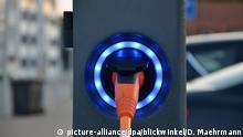 Stromtankstelle für Elektrofahrzeuge