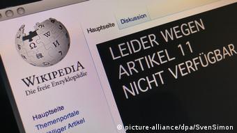 Aus Protest-Wikipedia ist heute offline.