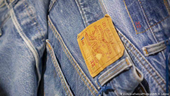 Levi Strauss and Co's vintage 501 Jeans
