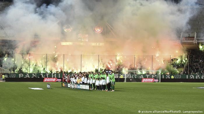 Fußball Griechenland Panathinaikos Athens Olympiakos Piraeus