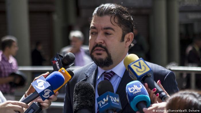 Roberto Marrero Venezuela (picture-alliance/dpa/S. Donaire)