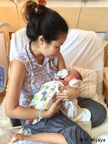 Blogfotos zu - Schwangerschaft und Geburt in Deutschland