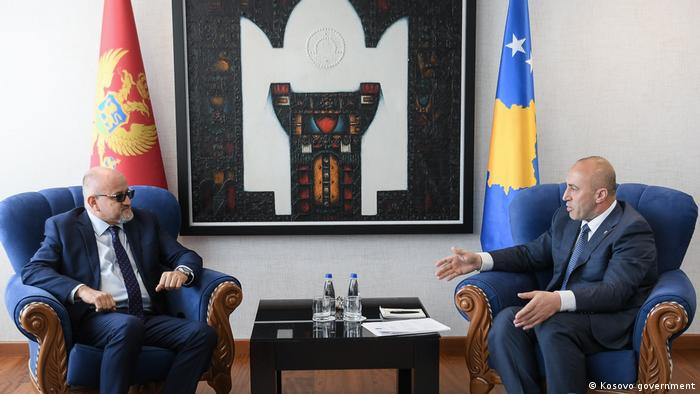 Ramush Haradinaj und Sergjan Dermanovic (Kosovo government)