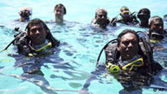 Malediven Unterwasserabstimmung