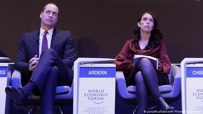 Prince William & Jacinda Ardern