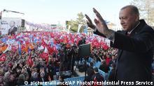Türkei Präsident Recep Tayyip Erdogan in Kutahya