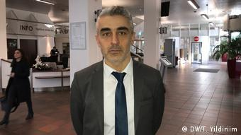 Deutschland Köln Prozess gegen Milli Görüs | Mustafa Kaplan, Rechtsanwalt (DW/T. Yildiriim)