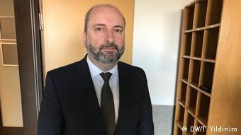 Deutschland Köln Prozess gegen Milli Görüs | Oğuz Üçüncü, früherer Generalsekretär (DW/T. Yildiriim)