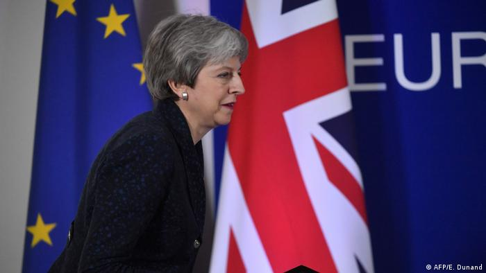EU-Gipfel Brexit in Brüssel | Theresa May (AFP/E. Dunand)