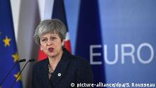 EU-Gipfel Brexit in Brüssel | Theresa May