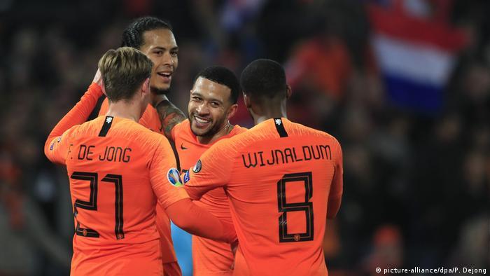 Em Qualifikation Oranje Team In Torlaune Sport Dw