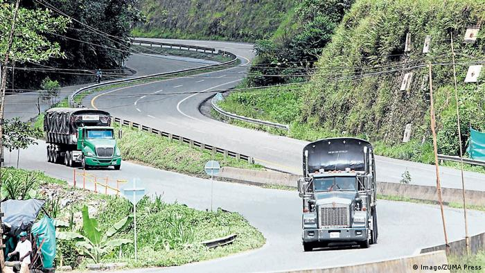 Kolumbien Autobahn in der Region Valle del Cauca (Imago/ZUMA Press)