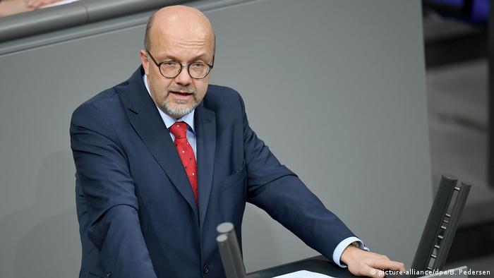 SPD politician Fritz Felgentreu (picture-alliance/dpa/B. Pedersen)