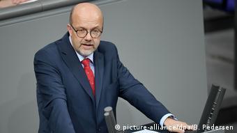 Sosyal Demokrat Parti'nin savunma uzmanı Fritz Felgentreu