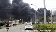China Explosion im Chemiewerk in Jiangsu