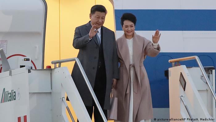 Italien Chinesischer Präsident Xi Jinping auf Europareise (picture-alliance/AP Photo/A. Medichini)