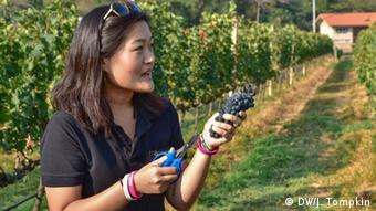 Nikki Lohitnavy, winemaker at GranMonte Winery in the Khao Yai region of Thailand (DW/J. Tompkin)