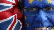 Belgien Protest gegen den Brexit