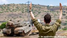 Israel - Syrien Golan-Höhen israelische Soldaten