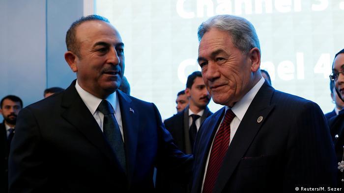 Türkei Istanbul Besuch Außenminister Neuseeland Winston Peters (Reuters/M. Sezer)