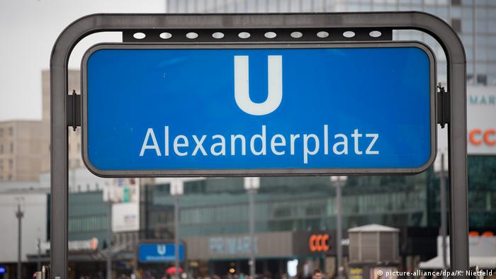 Alexanderplatz subway station