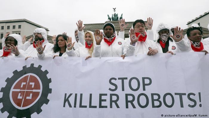 Resistance to killer robots growing