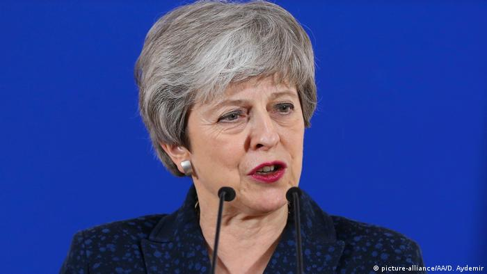 Britische Premierministerin Theresa May (picture-alliance/AA/D. Aydemir)