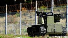 Russland Kampfroboter