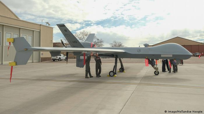 Niederlande Kampfdrohne MQ-9 Reaper oder Predator B
