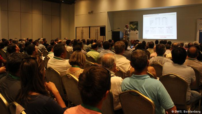 Chile: reunión anual de productores chilenos de avellanas en Talca (DW/S. Boddenberg)