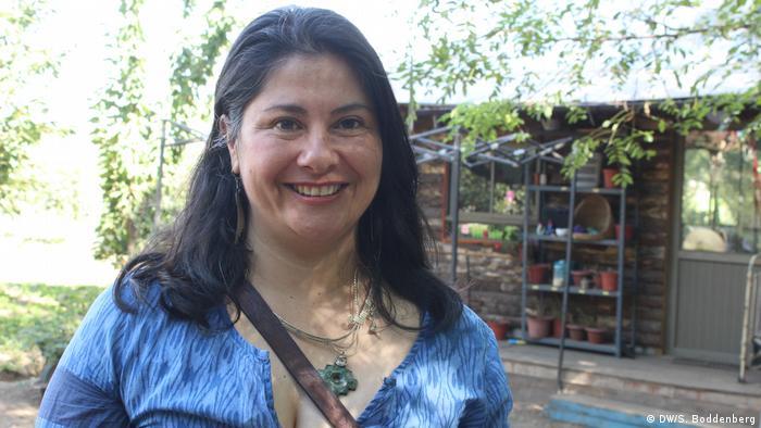 Chile: plantación de avellanas en la Región del Maule - Elsa Labrana (DW/S. Boddenberg)