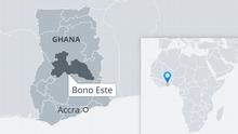 Al menos 60 muertos tras choque frontal entre dos autobuses en Ghana