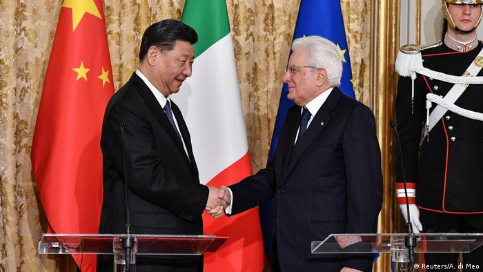 Италианският президент Серджо Матарела посреща скъп гост - китайският му колега Си Цзинпин започва от Рим европейската си обиколка