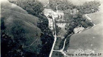 Foto aérea de Campos do Jordão em 1940