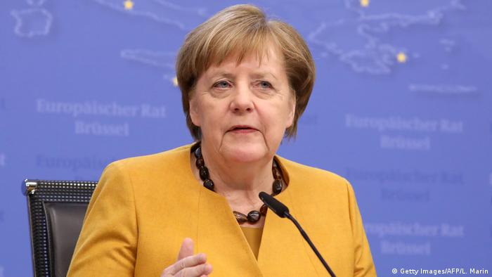 German Chancellor Angela Merkel (Getty Images/AFP/L. Marin)