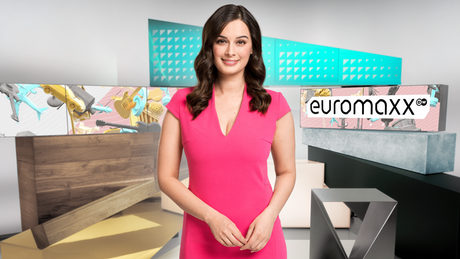 Evelyn Sharma, Moderatorin von Euromaxx