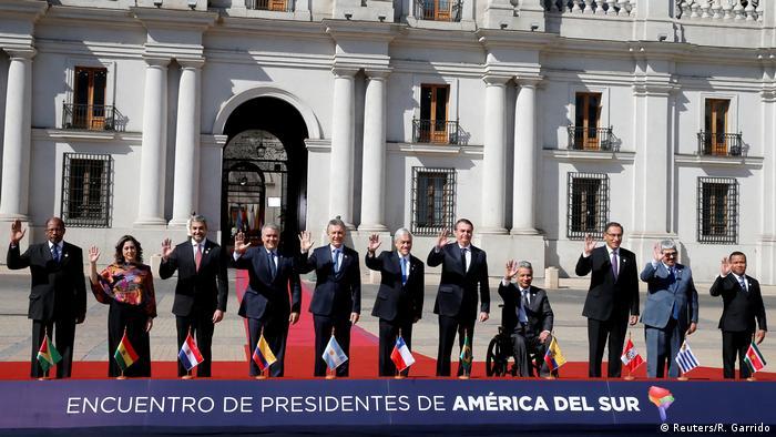 Representantes de países sul-americanos participam de evento da criação do Prosul