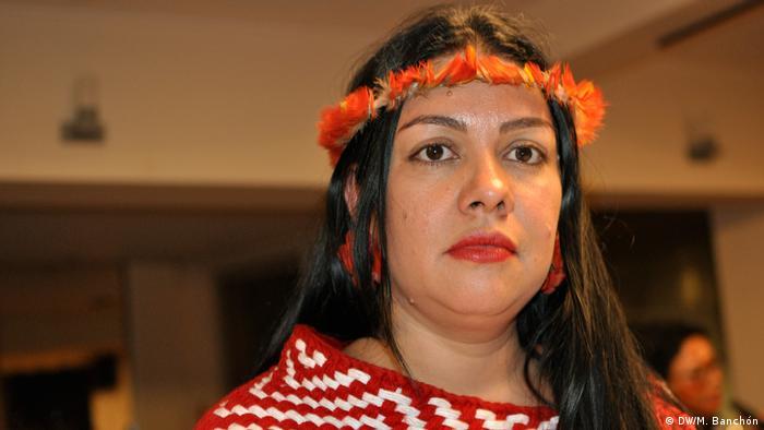Fernanda Jófej, abogada asesora de las organizaciones indígenas del Brasil.