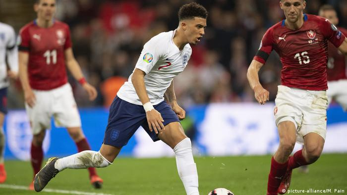 UEFA Euro 2020-Qualifikation - Gruppe A - England - Tschechische Republik (picture-alliance/M. Pain)