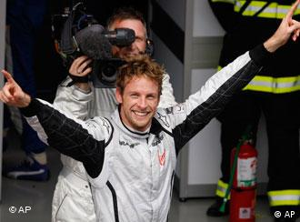 Brawn GP pilot Jenson Button