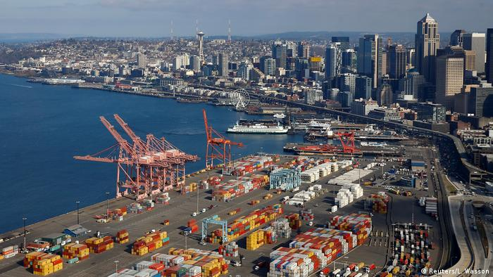 USA, Seattle: Harbor Island Hafen (Reuters/L. Wasson)
