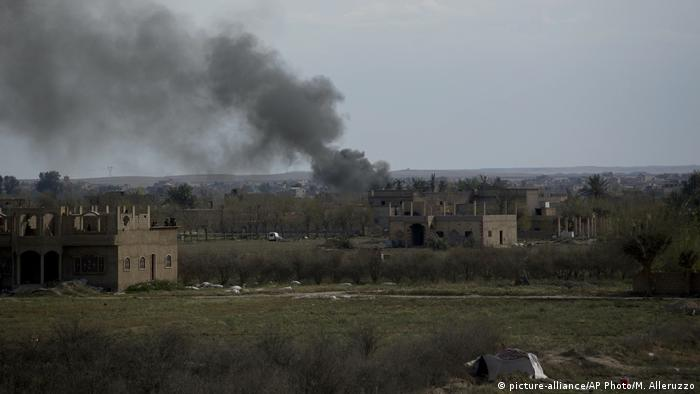 Syrien Kämpfe in Baghouz
