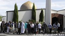 Neuseeland Christchurch Wiedereröffnung der Al-Nur-Moschee nach Terroranschlag